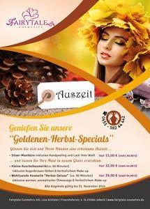 Fairytale Cosmetics Flyer Herbst 2014